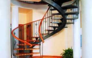 Бетонная лестница своими руками с забежными ступенями