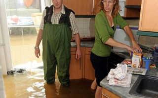 Что делать если прорвало водопровод в частном доме