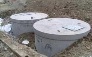 Бетонные кольца для канализации частного дома