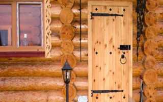 Как сделать теплую дверь своими руками