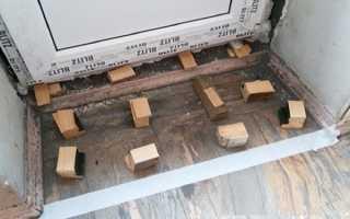 Как сделать порог балкона своими руками