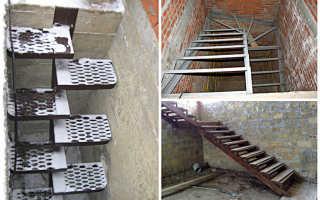 Как сделать лестницу на второй этаж своими руками для гаражей