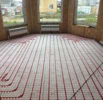 Схема монтажа отопления теплого пола в частном доме