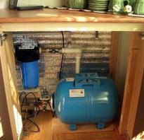Что нужно для водопровода на даче из колодца