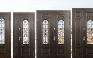 Как снять металлическую дверь с петель видео