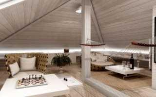 Что сделать с потолком на мансарде