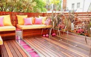 Скамья на балкон с ящиком своими руками