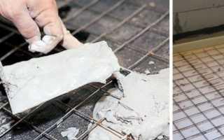Армирование стяжки теплого пола стальной сеткой