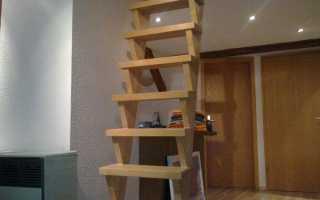 Как сделать лестницу на чердак частного дома своими руками