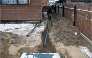Цены на провод водопровода в дом