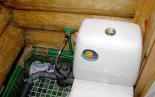 Туалет для частного дома с канализацией