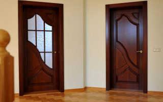 Как ставить межкомнатную дверь своими руками видео