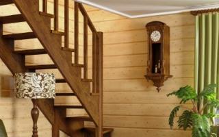 Как сделать лестницу на даче своими руками из дерева