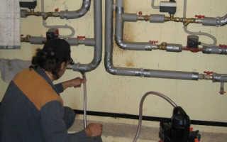 Акт промывки системы отопления в жилом доме