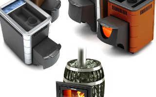 Бани с печью термафор