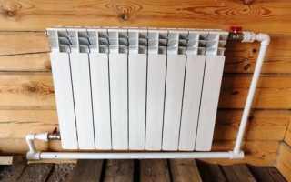 Элементы для подключения радиатора к системе отопления
