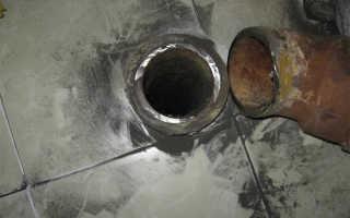 Чугунная труба для канализации как вытащить