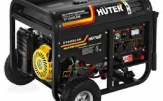 Генератор бензиновый huter 6500 lxw с функцией сварки