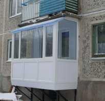Пристроить балкон на первом этаже своими руками