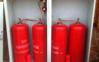 Автономное отопление дома сжиженным газом в баллонах