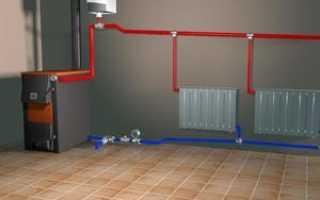 Автономная система отопления частного дома с циркуляционным насосом