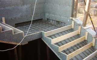 Бетонные лестницы своими руками сделать опалубку