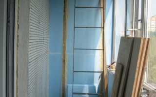 Балконы с пожарной лестницей отделка своими руками