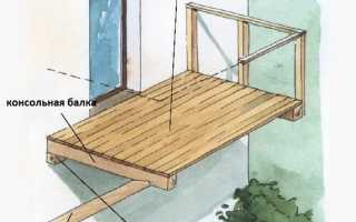 Балкон пристрой к деревянному дому своими руками
