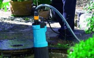 Фекальный насос без поплавка для откачки канализации