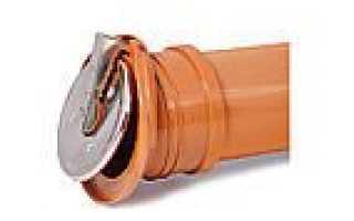 Вертикальный обратный клапан для канализации 160