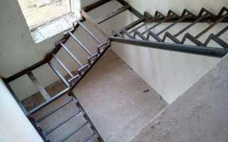 Как сделать лестницу на второй этаж из профильной трубы своими руками