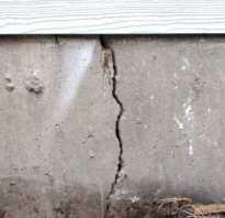 Что делать если лопнул фундамент гаража