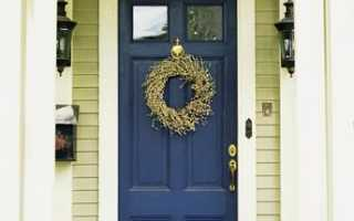 Чем облагородить входную дверь