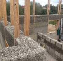 Фундамент своими руками под дом из опилкобетона