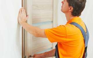 Установка косяков двери своими руками