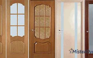 Установка шпоновой двери своими руками