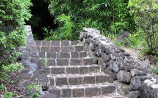 Как сделать лестницу на склоне своими руками