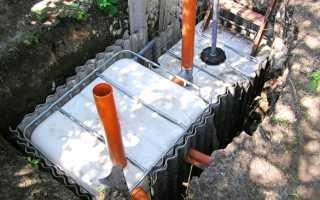 Где расположить канализацию для частного дома
