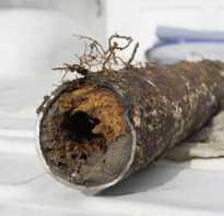 Чем промыть водопровод в частном доме от ржавчины