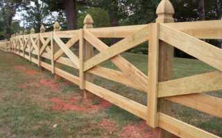 Как должен быть установлен забор в частном доме