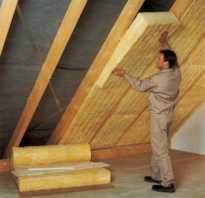 Теплоизоляция скатных крыш своими руками