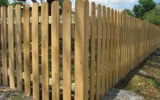 Бревенчатый забор как называется