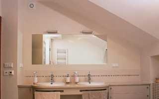 Вентиляция в ванной комнате в своем доме своими руками