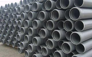 Труба полипропиленовая для канализации диаметром 200