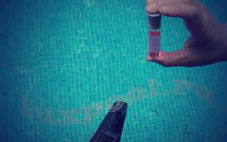Анализ воды в бассейне как часто