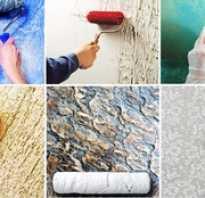 Как сделать декоративная отделка стен своими руками