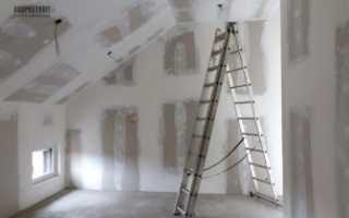 Как шпаклевать стены гипсокартон своими руками видео новичку
