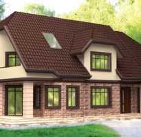 Полувальмовая крыша дома с мансардой своими руками