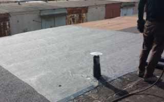 Сколько стоит гидроизоляция крыши гаража