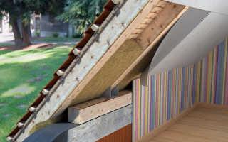 Теплоизоляция крыши дома что лучше